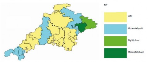 Hard Water Areas >> Water Softeners Heatology